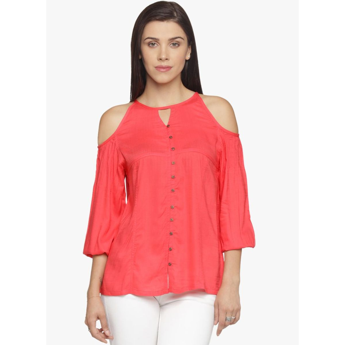 DECLAN COLD SHOULDER TOP