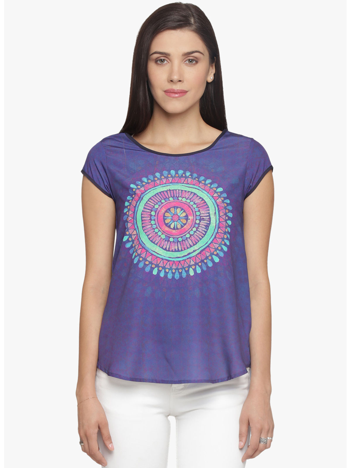 BECK PLACEMENT PRINT TOP