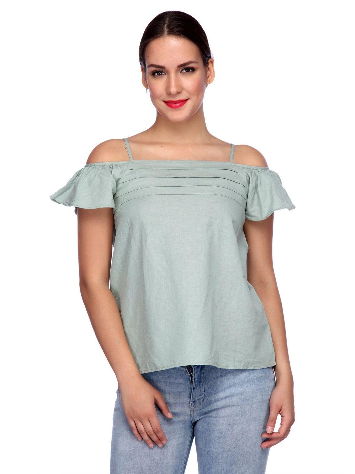 Fiona cold shoulder Top