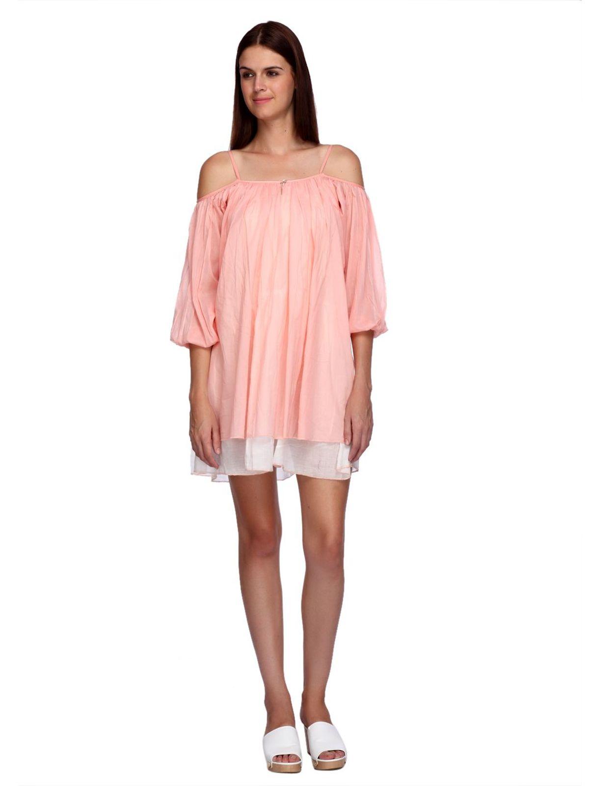 ELLE COLD SHOULDER DRESS