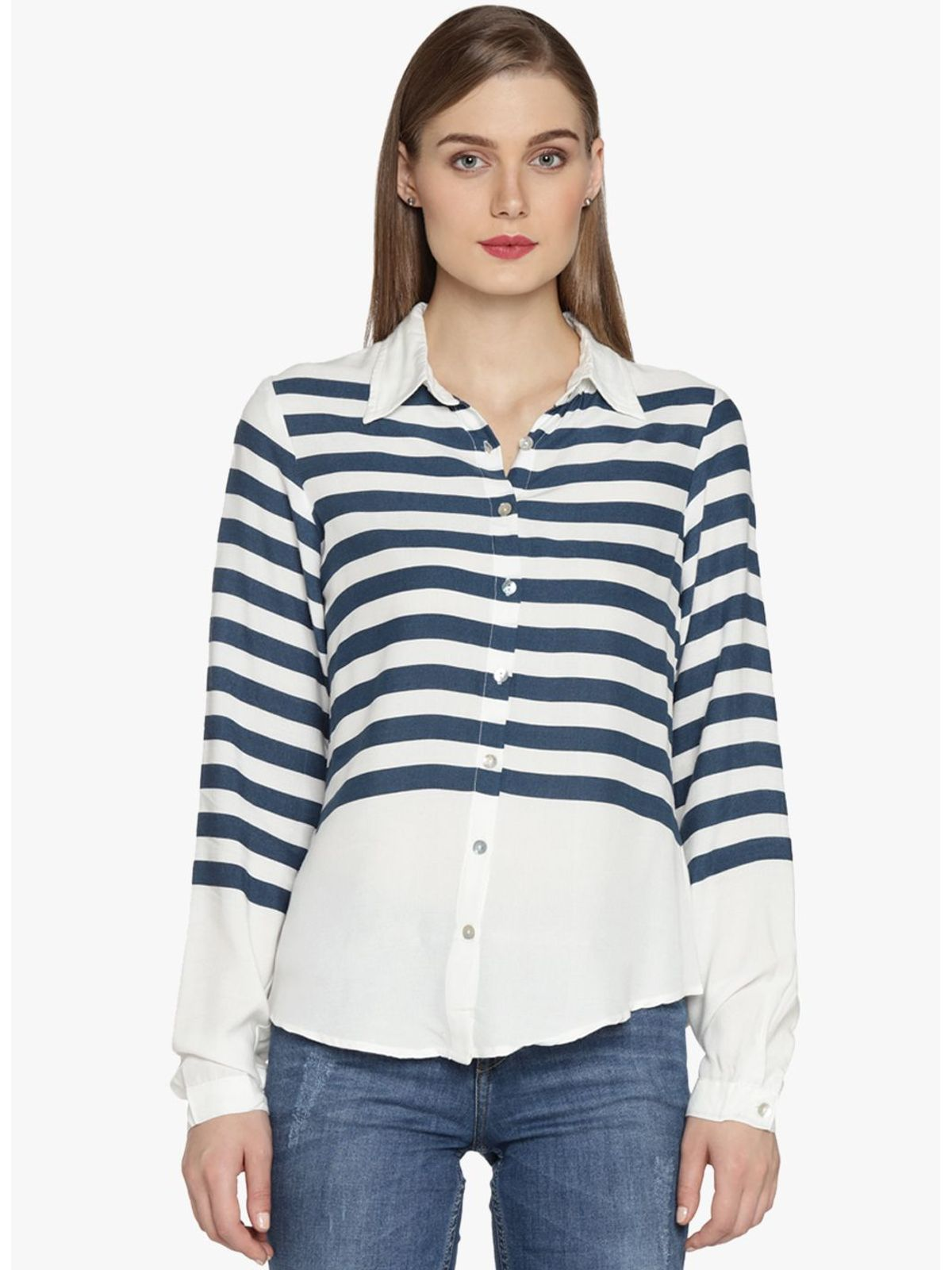 CORA STRIPE SHIRT