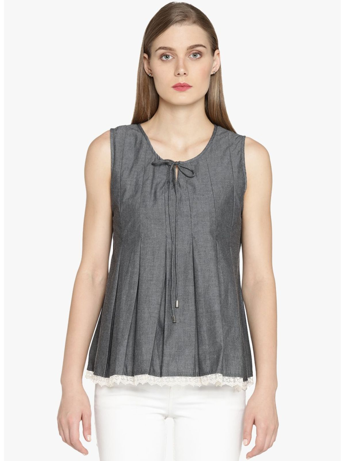 CHLOE COLD SHOULDER TOP