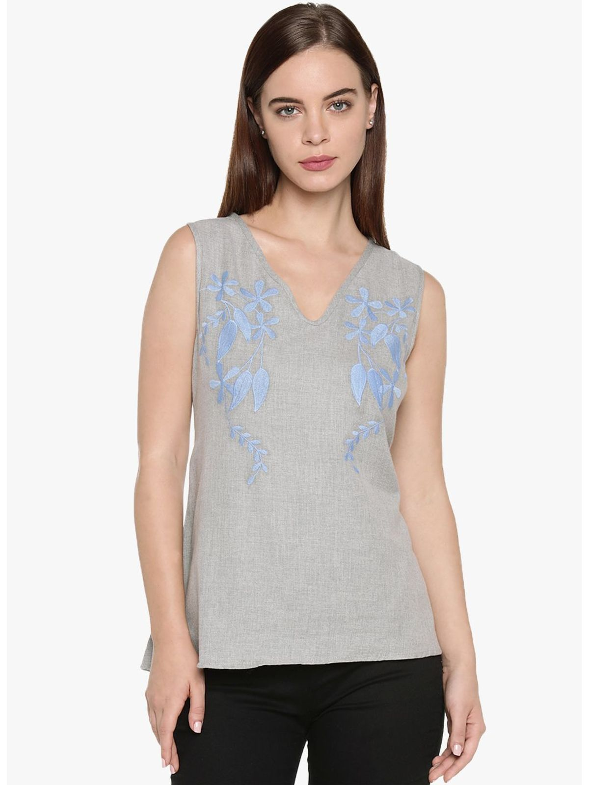 ROWENA EMBROIDRED TOP
