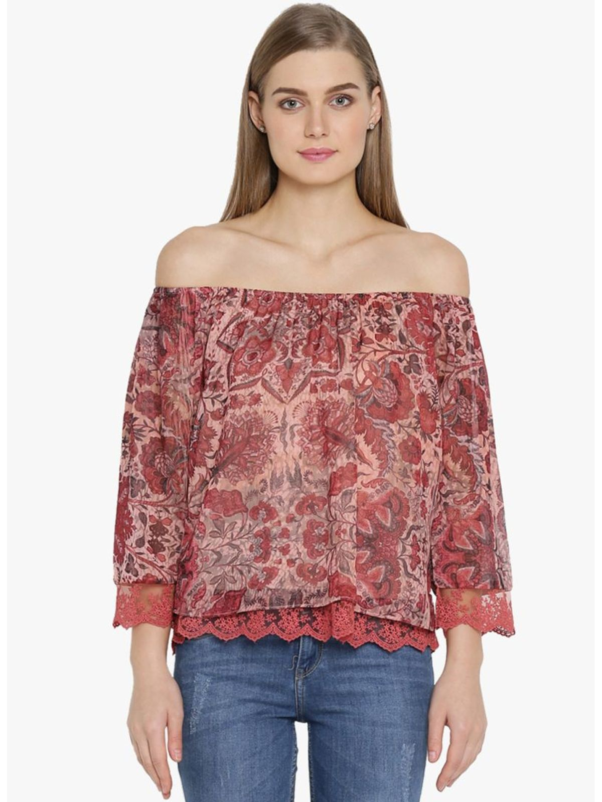 TALISHA OFF SHOULDER TOP