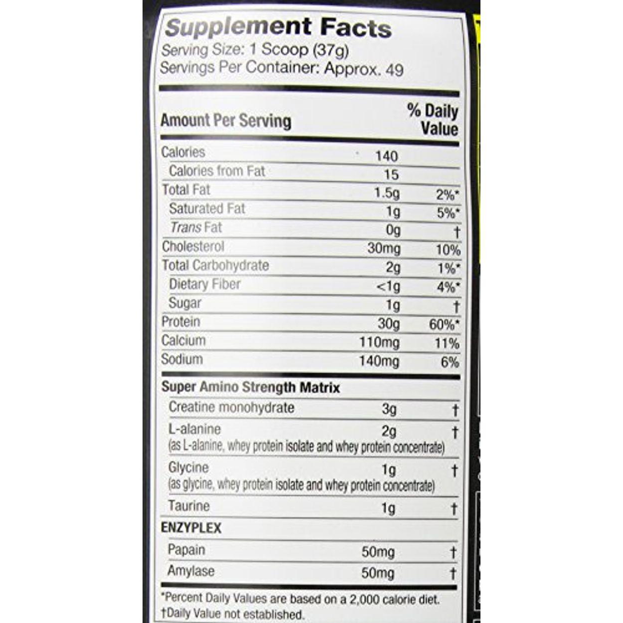 Muscletech Nitrotech Performance Series 397 Lbs Vanilla Ufl2881 4 Strawberry Previous Next