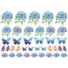 Hydrangea Lawns Motif Sheet