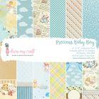 """Precious Baby Boy -12"""" x 12"""" Paper Pad"""