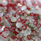 Red Hearts Sequins