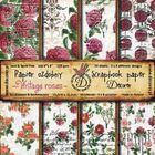 """Vintage Roses 6"""" x 6"""" - Paper Pad"""