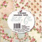 "Shabby Chic 6"" x 6"" - Paper Pad"