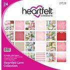 "Heartfelt Love  - Paper Pad 12""X12"" 24/Pkg"