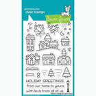 Winter Village - Stamp