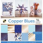 "Copper Blues - 12""X12"" Paper Pad"