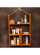 uByld Strings DIY Rope shelf kit. Pinewood furniture, DIY Furniture in India