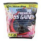 MuscleTech 100 % Premium Mass Gainer, Strawberry 12 lb