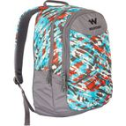 WILDCRAFT CAMO 1 BACKPACK BAG - TURQUOISE