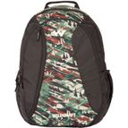WILDCRAFT CAMO 3 BACKPACK BAG - GREEN