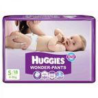 HUGGIES WONDER PANTS 4-8KG 18PCS