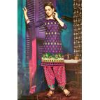 Raheja Kashmiri Patiyala Unstitched Dress Material