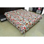 Bird print Bed cover / Quilt