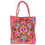 Hand bag kashmiri embroidery