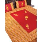 Patch work bed sheet