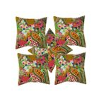 Cushion cover kerry print tagai work