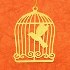 Bookmark Bird cage