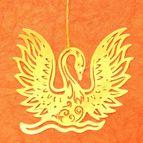 Bookmark Swan