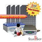 2kWH Complete Solar Inverter Kit