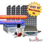 650Wh Complete Solar Inverter Kit Without Battery