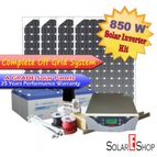 850Wh Complete Solar Inverter Kit  Without Battery