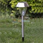 Solar Garden Light Stainless Steel with Auto On-Off Sensor ECS-SMALSS1