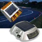 Solar Road Stud Warning Light
