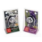 Perfumed Car Freshener (a Set Of 2 Variants - English Levender + White Blossom) - 1 Pcs Each