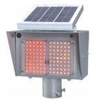 Solar Dual Flasher Warning Light