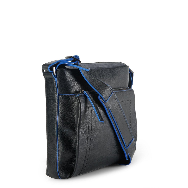 fe237ff9b5 ... Men s Leather Messenger Bag - PR1128