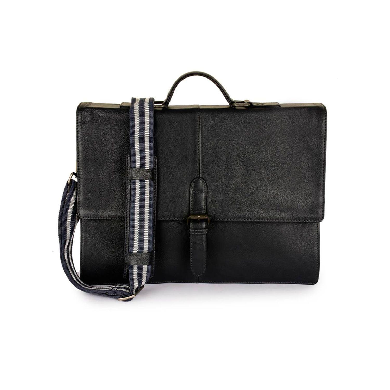f342baf474ca Leather Messenger Bag - PRM1298