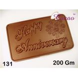 Happy Anniversary-Chocolate Mould