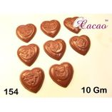 Embossed hearts-Chocolate Mould