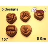 Heart desings-Chocolate Mould