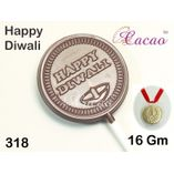 Happy Diwali (round)-Chocolate Mould
