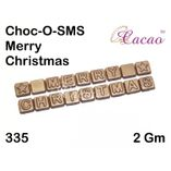 Merry Christmas 2-Chocolate Mould