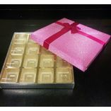 Pink Sparkle Box (for chocolates) - 16 cavities