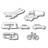 Transportation Icons (set of 7 dies)