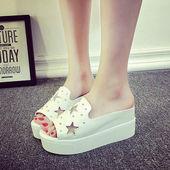 Stylish Wedge Slippers - KP002227