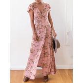 Printed Floral Maxi - KP002244