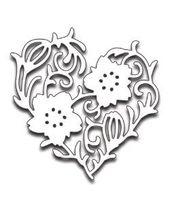 Penny Black Creative Dies - Flower Heart
