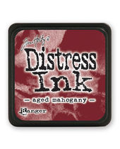 Tim Holtz Mini Distress Ink Pads - Aged Mahogany