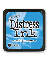 Tim Holtz Mini Distress Ink Pads - Salty Ocean
